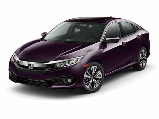 New 2016 Honda Civic EX-L Sedan for sale in the Boston MA area