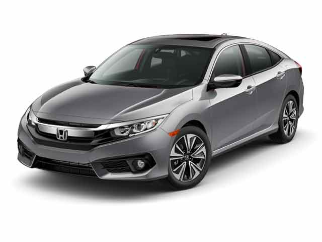 2016 Honda Civic 4dr CVT EX-T Car