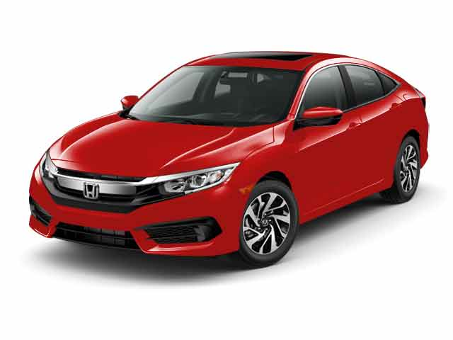 2016 Honda Civic 4dr CVT EX Car