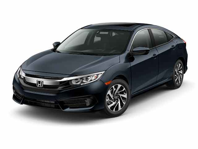 New 2016 Honda Civic EX w/Honda Sensing Sedan for sale in the Boston MA area