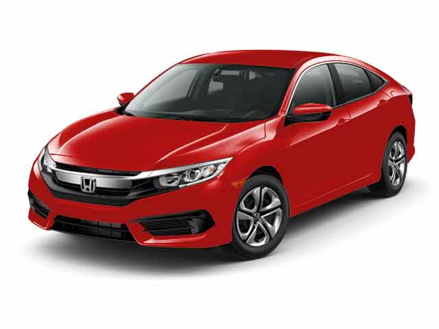 2016 Honda Civic 4dr CVT LX Car