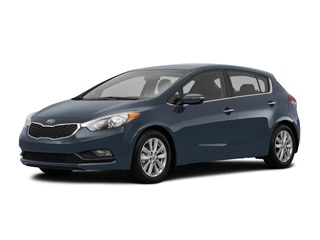 2016 Kia Forte Hatchback Steel Blue Metallic