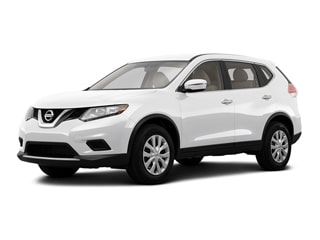 2016 Nissan Rogue SUV Pearl White