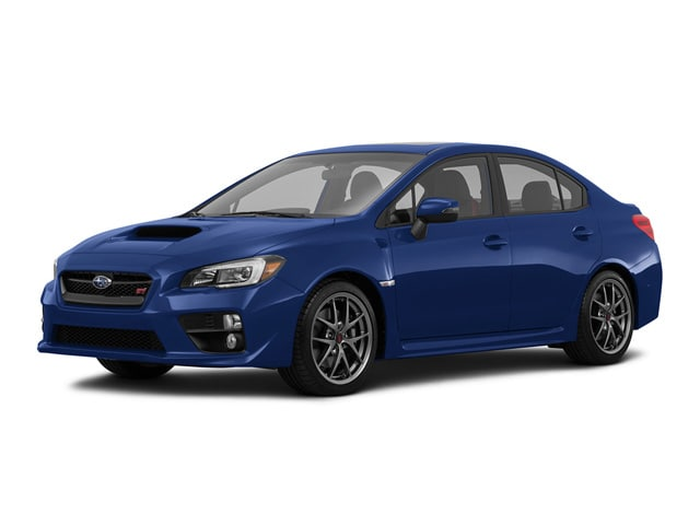 2016 Subaru WRX STI Limited with Lip Sedan