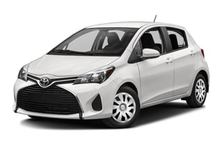2016 Toyota Yaris Hatchback Super White