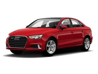2017 Audi A3 Sedan Tango Red Metallic