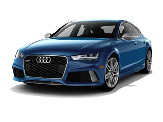 2017 Audi RS 7 Sedan Sepang Blue Pearl Effect