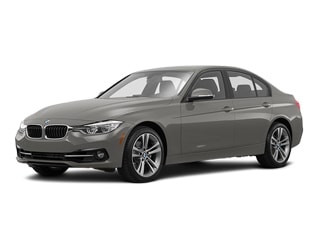 2017 BMW 330i Sedan Platinum Silver Metallic