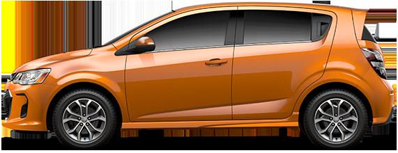 2017 Chevrolet Sonic Hatchback LT Manual