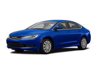 2017 Chrysler 200 Sedan Vivid Blue Pearlcoat