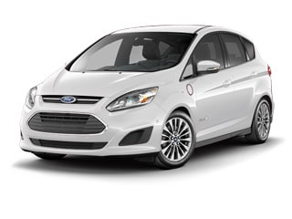 2017 Ford C-Max Energi Hatchback White Platinum Metallic Tri