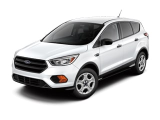 2017 Ford Escape SUV White Platinum Metallic Tri