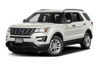 2017 Ford Explorer SUV White Platinum Metallic Tri