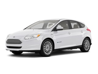 2017 Ford Focus Electric Hatchback White Platinum Metallic Tri