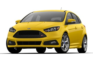 2017 Ford Focus ST Hatchback Triple Yellow Metallic Tri