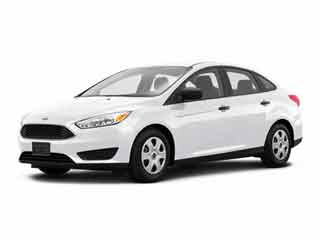 2017 Ford Focus Sedan White Platinum Metallic Tri