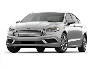 2017 Ford Fusion Hybrid Sedan White Platinum Metallic Tri