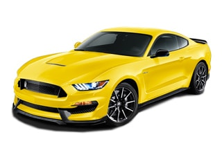 2017 Ford Shelby GT350 Coupe Triple Yellow Tri