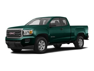 2017 GMC Canyon Truck Woodland Green