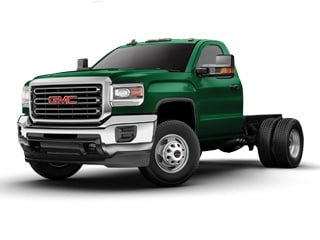 2017 GMC Sierra 3500HD Chassis Truck Woodland Green