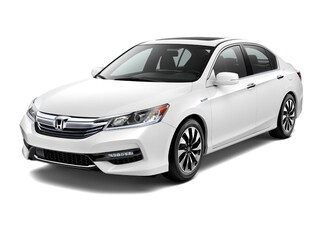 New 2017 Honda Accord Hybrid EX-L Sedan 00H72011 near San Antonio