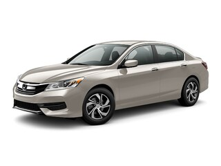 New 2017 Honda Accord LX Sedan 00H72036 near San Antonio