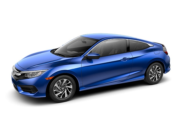 New 2017 Honda Civic LX Coupe for sale in the Boston MA area