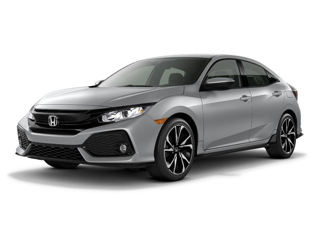 2017 Honda Civic Hatchback Sport CVT Car