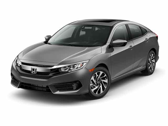 New 2017 Honda Civic EX Sedan Gardena, CA