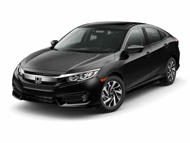 New 2017 Honda Civic EX Sedan East Stroudsburg