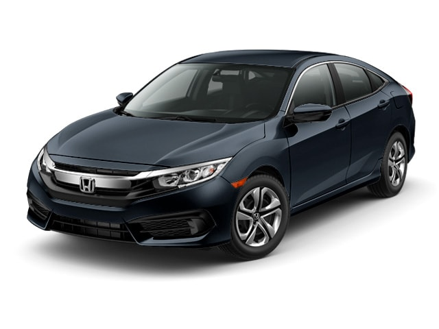 New 2017 Honda Civic LX Sedan Gardena, CA