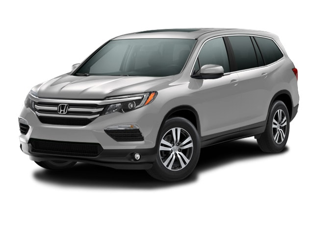 New 2017 Honda Pilot EX-L w/Navigation AWD SUV for sale in Woodstock, GA at Hennessy Honda