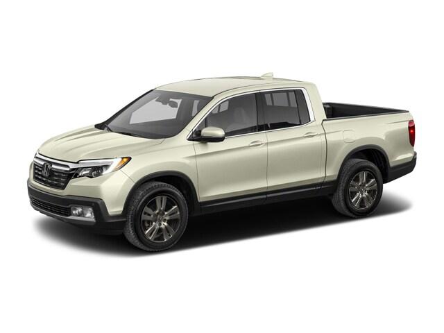 New 2017 honda ridgeline truck crew cab rtl awd white for Lithia honda medford or