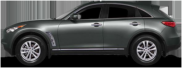2017 INFINITI QX70 SUV Base