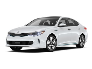 2017 Kia Optima Plug-In Hybrid Sedan Snow White Pearl