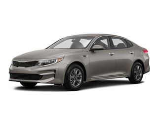 2017 Kia Optima Sedan Titanium Silver
