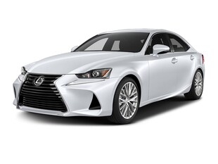 2017 LEXUS IS 300 F SPORT SERIES 1 Sedan