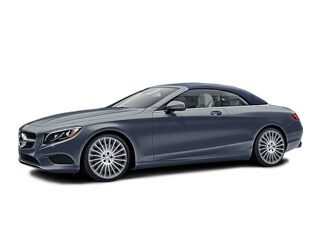 2017 Mercedes-Benz S-Class Cabriolet Selenite Gray Metallic