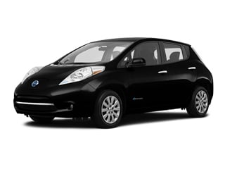 2017 Nissan LEAF Hatchback Super Black