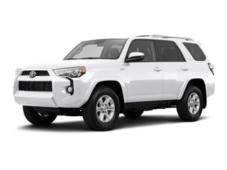 2017 Toyota 4Runner SUV Super White