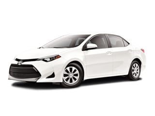 2017 Toyota Corolla Sedan Super White