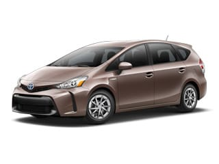 2017 Toyota Prius v Wagon Toasted Walnut Pearl