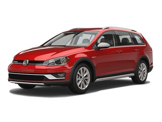 2017 Volkswagen Golf Alltrack Wagon Tornado Red