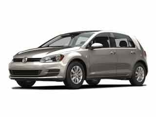 2017 Volkswagen Golf Hatchback Tungsten Silver Metallic