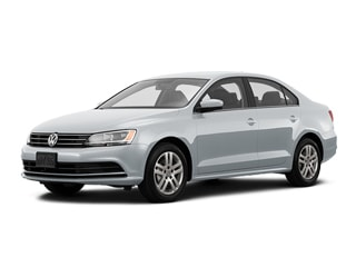 2017 Volkswagen Jetta Sedan White Silver Metallic