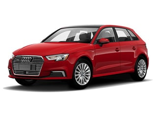 2018 Audi A3 e-tron Hatchback Tango Red Metallic