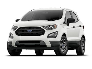 2018 Ford EcoSport SUV White Platinum Metallic Tri