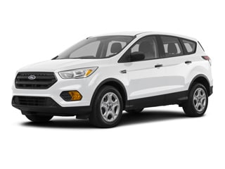 2018 Ford Escape SUV White Platinum Metallic Tri