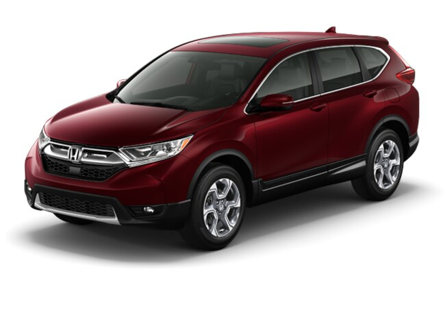 New 2018 Honda CR-V EX-L SUV for sale at Balise Honda in Springfield MA area