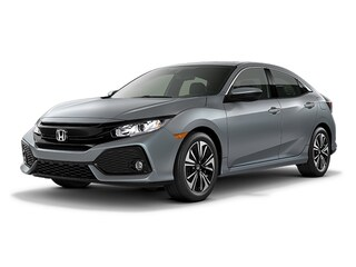 New 2018 Honda Civic EX-L w/Navi & Honda Sensing Hatchback SHHFK7H88JU404933 for sale in Johnston, RI at Grieco Honda